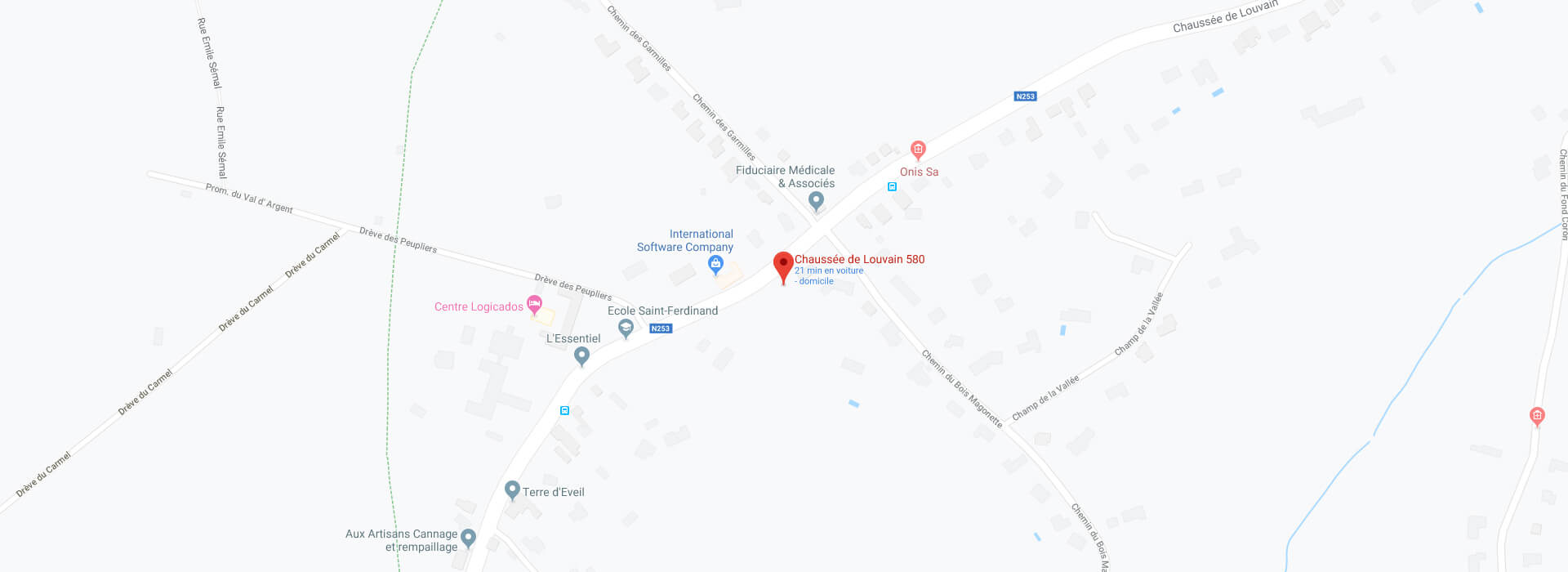 Carte géolocalisation